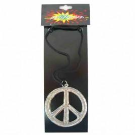 Ketting  Peace metaal