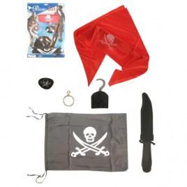 Piratenset op kaart 6 delig