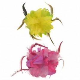 Bloemen haarklem