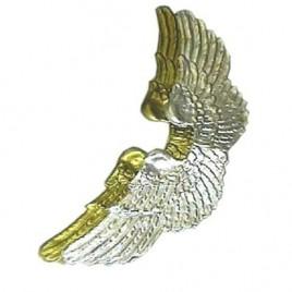 Engelen vleugels groot goud/zilver