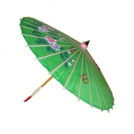 Chinese paraplui bonte opdruk luxe 90 cm
