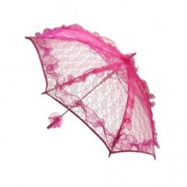 Bydemeyer paraplu roze groot scherm