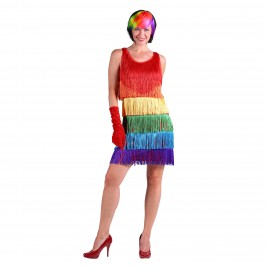 Jurk Ruby (rainbow)