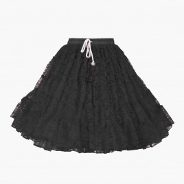 Petticoat kant (zwart)