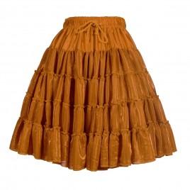 Petticoat Metallic (koper/zilver/goud/zwart/rood)