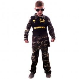 Commando Broek-Shirt met Body Armor