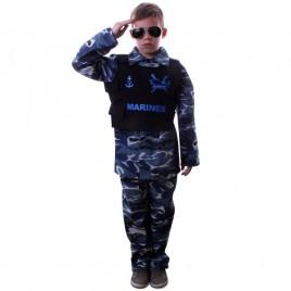 Marinier Broek-shirt met Body Armor