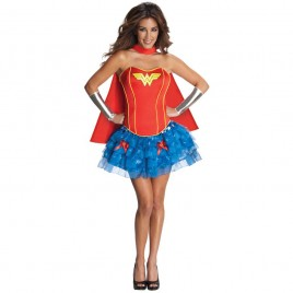 Wonder Woman corset jurk