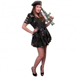 Army Dress Jurk-riem