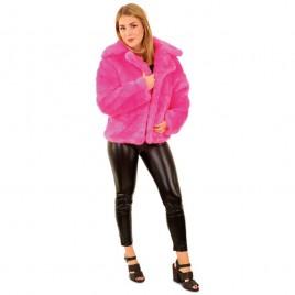 Bontjas pink