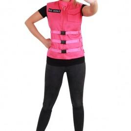S.O. W.H.A.T vest pink