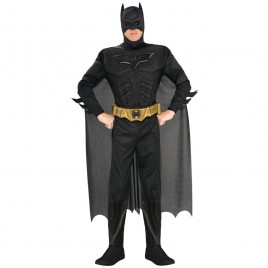 Batman Muscle Jumpsuit Muscle-Bootcovers-Cape-Masker-Riem