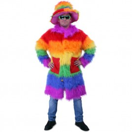 Rainbow Colour Pimpcoat