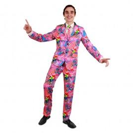 Disco kostuum (3-delig)