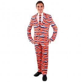 NL Oranje kostuum(3-delig)