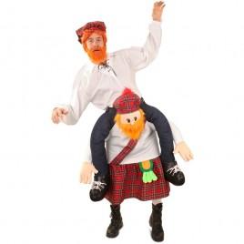 Gedragen door Schotse man