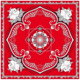 Zakdoek/bandana rood