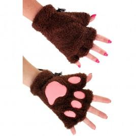 Handschoenen dierenpootjes