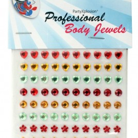 Body Jewels assorti 90 st