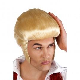 Pruik Rocking Billy (blond)
