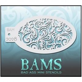 Bad Ass Bam Sjabloon 1306