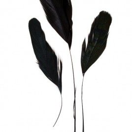 Veren Fly zwart/geel/rood 20cm