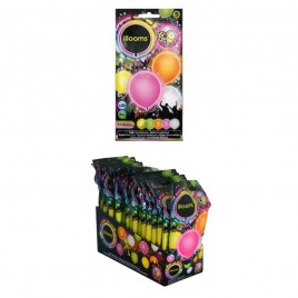 Led balloons mix summer (23cm)