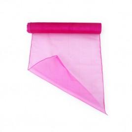Organza hot pink 32 cm (per meter)