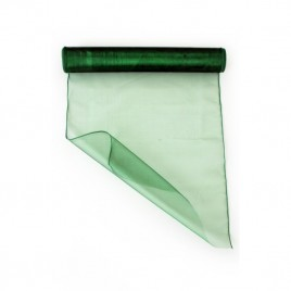Organza groen 32 cm (per meter)