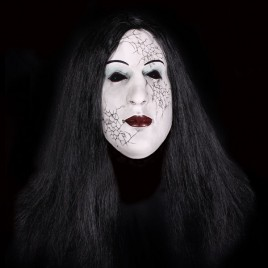 Creepy Witch masker
