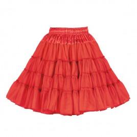 Petticoat 3-laags (rood/bruin/zwart/geel/groen)